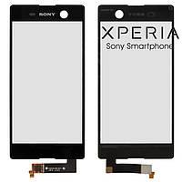Touchscreen (сенсорный экран) для Sony Xperia M5 E5606, оригинал (черный)