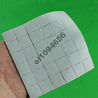 Термопрокладка для чипов 15х15х2мм 42штуки 3.2w/mK термопрокладки