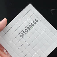 Термопрокладка для чипов 10х10х1мм 50 штук 3.2w/mK термопрокладки
