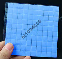 Термопрокладка для чипов 10х10х1мм 100 штук термопрокладки