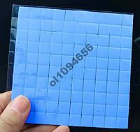 Термопрокладка для чипов 10х10х1мм 100 штук