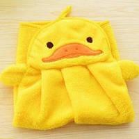 Детское полотенце - игрушка для рук из микрофибры