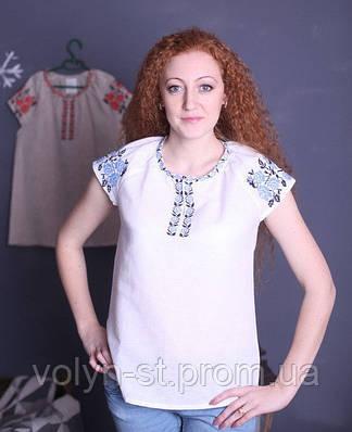 Вышиванка женская без рукавов, 2 цвета