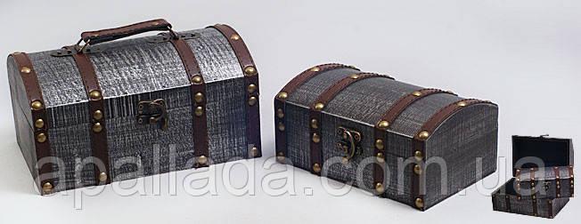 Набор деревянных шкатулок