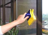 Щетка магнитная для мытья окон с двух сторон