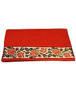 Рушник махровий Магія комфорту,  Оберіг червоний (50х90 см)