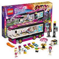 Lego Лего Friends Автобусное турне поп-звезды 41106
