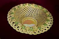 Конфетница плетеная круглая Виночек