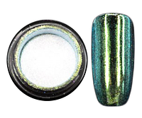 Зеркальная пудра CANNI М02 бирюза