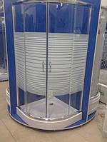 Душевая кабина SANTEH 1001L (100*100*1,95м) поддон 15см хром/LINES