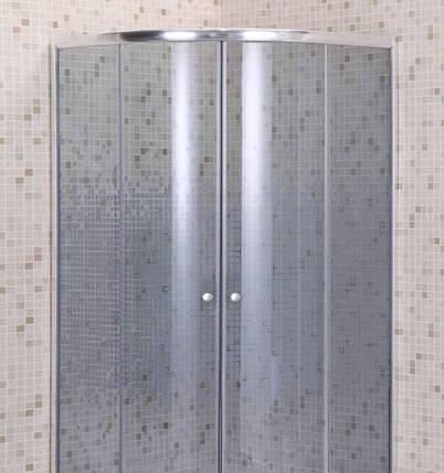 Душевой угол полукруглый Sansa S-90/45 Мозаик 90x90x200, фото 2