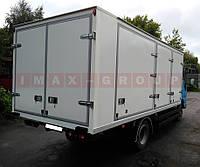 Фургон для перевозки бутилированной воды
