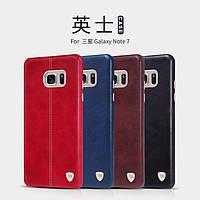 Кожаный чехол накладка Nillkin Englon для Samsung Galaxy Note 7 (4 цвета)