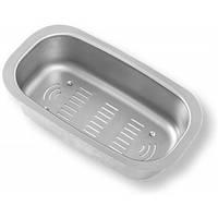 Коландер Ukinox CS 18.34 из нержавеющей стали для промывания и сушки посуды та столовых приборов, к мойке