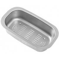 Металический коландер UKINOX CS 17.32  к кухонной мойке из нержавеющей стали для мытья фруктов и овощей