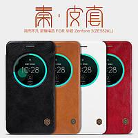 Кожаный чехол Nillkin Qin для Asus Zenfone 3(ZE552KL) (4 цвета)