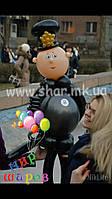 Полицейский из воздушных шаров