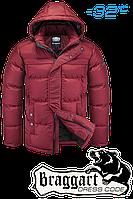 Мужская красная зимняя куртка Braggart арт. 1773