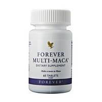 Мульти-Мака - таблетки для увеличения либидо, энергии и продуктивности (60табл.,Форевер,США)