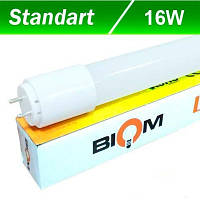 LED-Tube лампа BIOM T8 1200мм 16W 6200К (стекло) 1700Lm