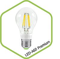 Filament LED лампа BIOM 8W E27 A60 (классика) 4500К