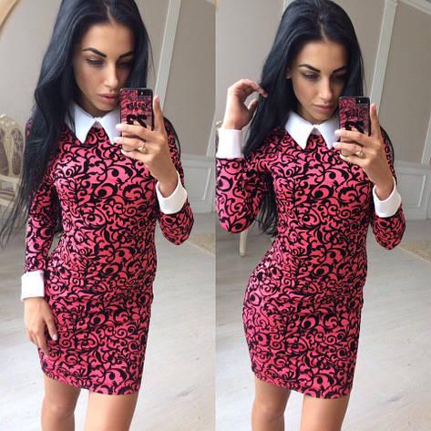 Платье с воротничком , фото 2