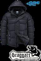 Мужская черная зимняя куртка Braggart арт. 1773