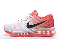 Женские кроссовки Nike Air Max 2017 orange-white