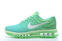 Женские кроссовки Nike Air Max 2017 green