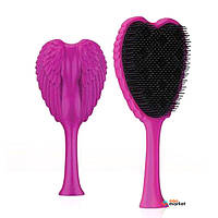 Щетки Tangle Angel Расческа Tangle Angel Xtreme Fuchsia Black Bristles