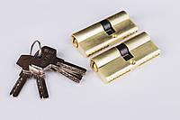 Сердцевина Фурор ZDC 70мм 30*40 ключ/ключ, 5 ключей