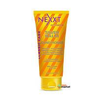 Кондиционеры для волос NEXXT Professional Бальзам-кондиционер Nexxt Professional серебристый для светлых и седых волос 200 мл