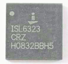 ШИМ-контроллер ISL6323CRZ, новый, в ленте