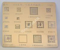 Трафарет MTK G1025 для 2MSM8960, MT6329A, MT6589WK