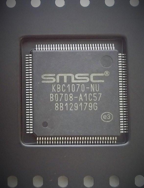 Мультиконтроллер SMSC KBC1070-NU новый, в ленте.
