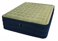 Велюровая кровать Intex 67906 (99x191x46 см)