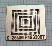 Трафарет BGA P4933007, шар 0,25 мм