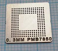 Трафарет BGA PMB7850, шар 0,3 мм