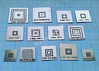 Набор трафаретов прямого нагрева для PSP. 13 штук
