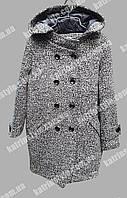 Женское пальто с капюшоном из новой коллекции