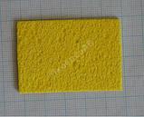 Губка для очистки паяльного жала 50*35 мм. 1 шт, фото 2