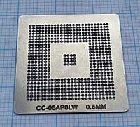 Трафарет BGA CC-06AP8LW, шар 0,5 мм