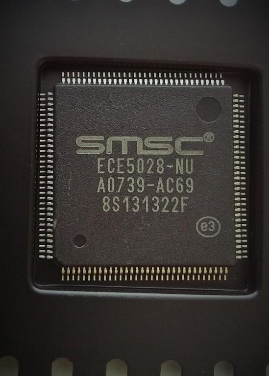 Мультиконтроллер SMSC ECE5028-NU новый, в ленте.