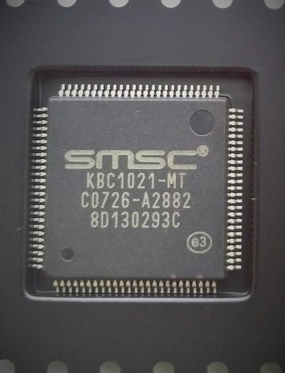 Мультиконтроллер SMSC KBC1021-MT новый, в ленте.