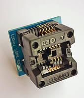 Адаптер SOIC8 SOP8 на DIP8 Mil150 (24 серия)