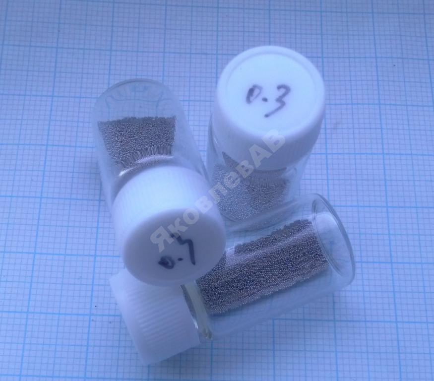 Шары для BGA реболлинга, диаметр 0,3 мм. 12500 шт