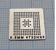 Трафарет BGA 4732HXF, шар 0,5 мм