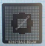 Трафарет BGA 82801BA, шар 0,6 мм, фото 2