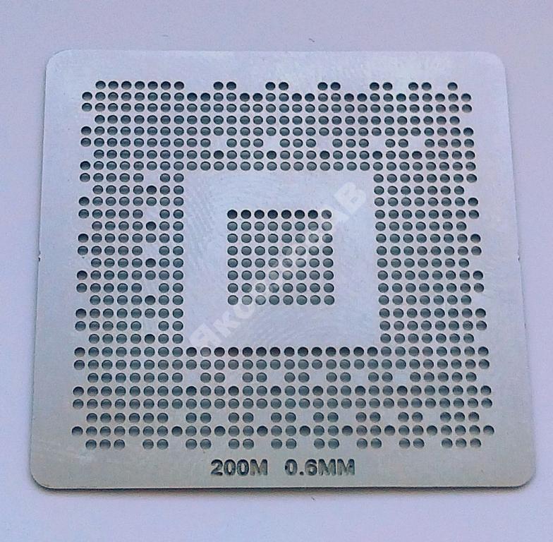 Трафарет BGA ATI 200M, шар 0,6 мм