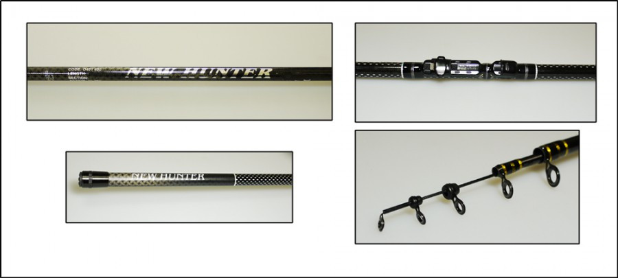 Удилище  New Hunter RS  с кольцами  5 М SIC (10-30)